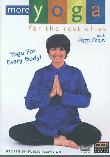 MORE YOGA FOR THE REST OF US BY CAPPY,PEGGY (DVD)